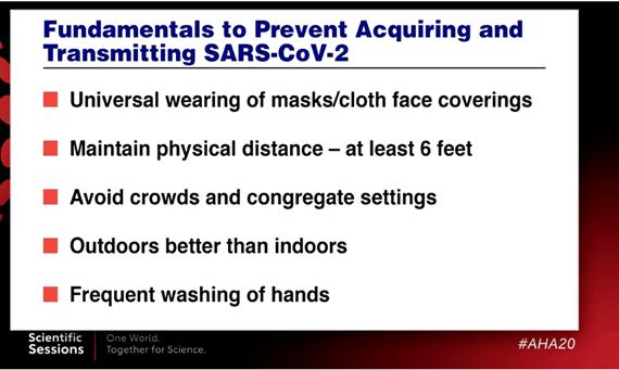 Five fundamentals to prevent the spread of COVID-19